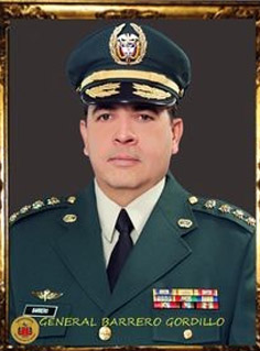 GENERAL BARRERO GORDILLO