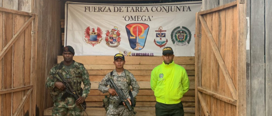 41m3 of wood seized in Cartagena del Chairá